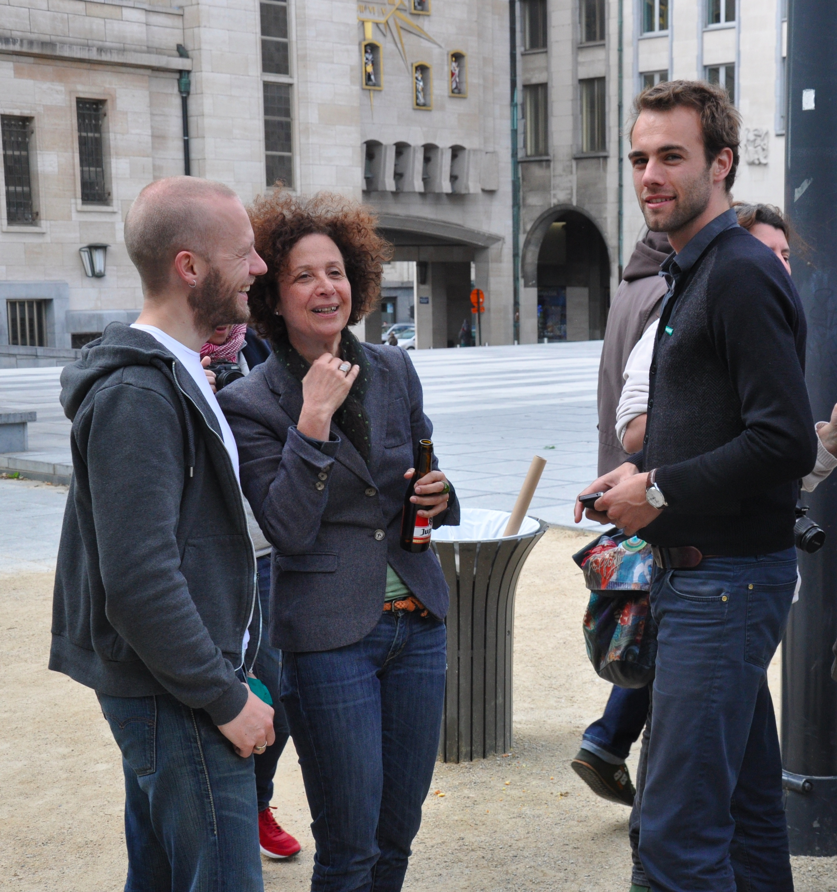 Bart D'Hondt 120609 en Bruno De Lille – Marie Nagy – Kunstberg – Foto H.Sleebus DSC_8862V